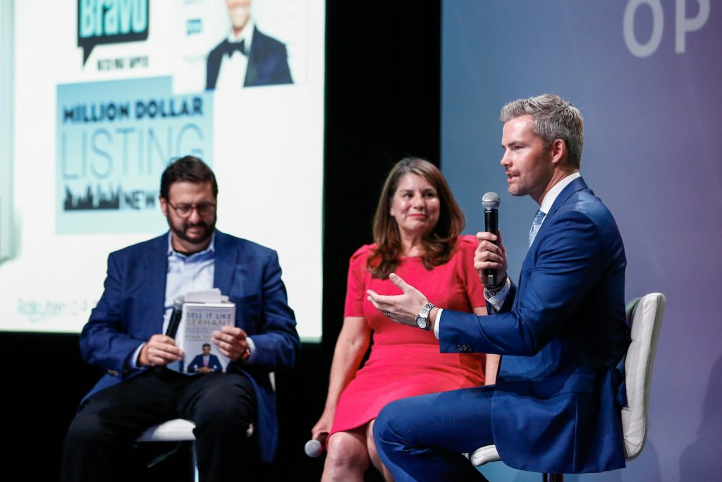 """It's a book that doesn't just teach you how to sell a banana once,"" he emphasized, ""but how to sell bananas over a consistent period of time, so you can grow your income, change your livelihood and be more optimistic about life in general,"" said Ryan Serhant on the purpose of his debut book."