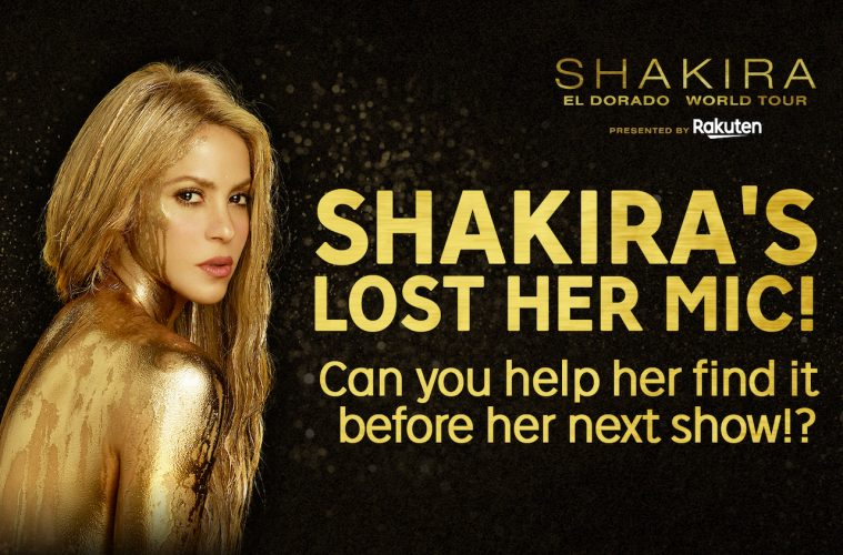 Rakuten Arena unveiled a new interactive video last month that invited fans to help find Shakira's microphone by clicking or tapping on hotspots hidden...