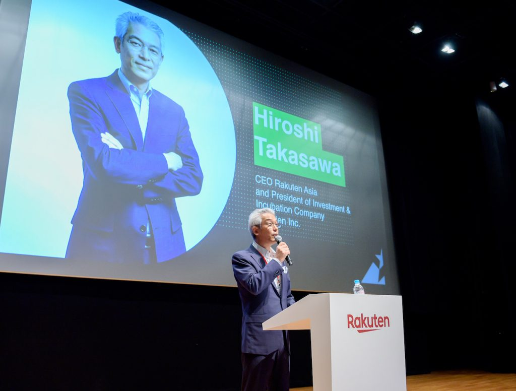 "On Rakuten Accelerator's startups, Hiroshi Takasawa commented: ""I have been very impressed with their ideas, motivation, courage and spirit to change the world, and have deep respect them as true entrepreneurs."""