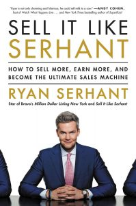 "Ryan Serhant published his first book, ""Sell It Like Serhant"" on September 18."