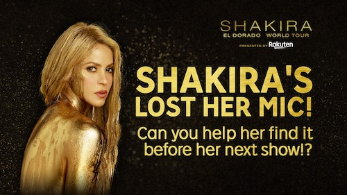 Rakuten Arena brings fans closer to Shakira with interactive video
