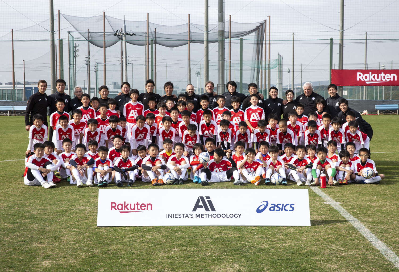 Training the next generation of Japanese soccer: Iniesta's Methodology