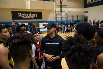 The vision of three-time NBA champion Stephen Curry and his skills trainer, Brandon Payne, came to life as the Underrated Tour kicked off on January 19 at Frederick K.C Price III Christian School in South Los Angeles