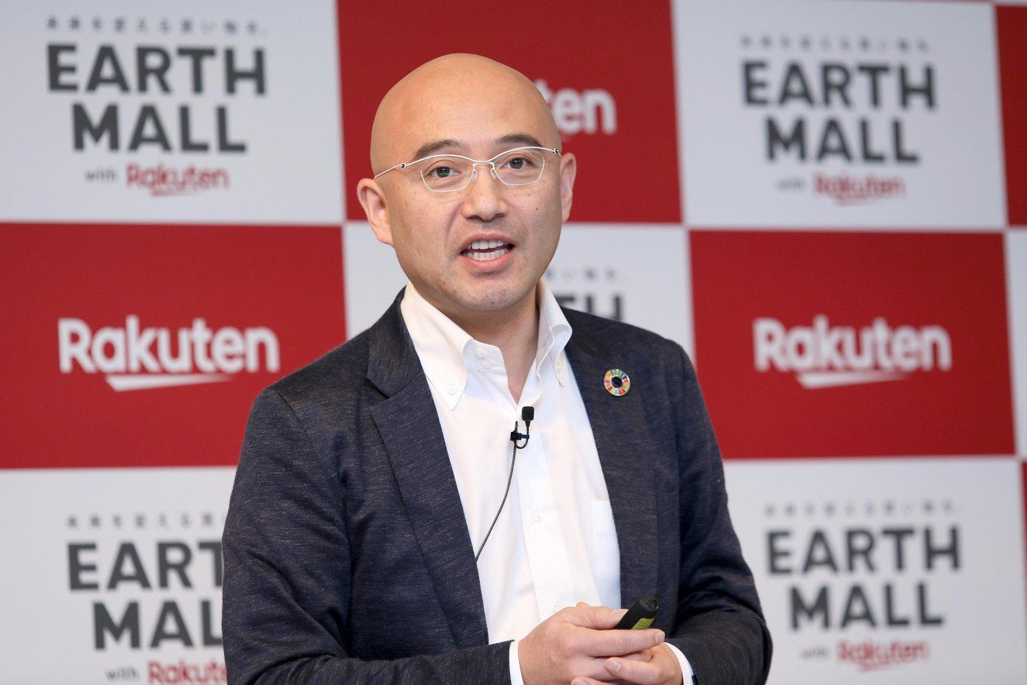 """It's not enough to simply try and change consumption. To change society, we need to change the environment for consumers. And if we can change society, the economy will change too,"" said Rakuten co-founder and Chief People Officer Masatada ""Seichu"" Kobayashi."