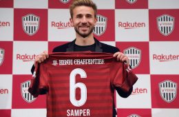 At Vissel Kobe, Sergi Samper will reunite with his countrymen and former teammates at FC Barcelona, Andres Iniesta and David Villa.