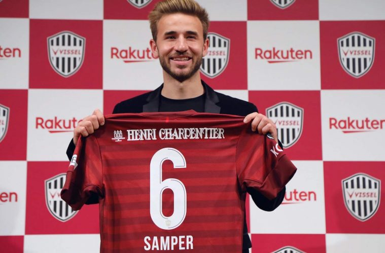 5d39ca36e37 At Vissel Kobe, Sergi Samper will reunite with his countrymen and former  teammates at FC
