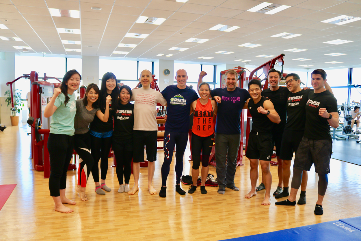 2015 Spartan World Champion Robert Killian visited Rakuten Crimson House and shared a few training and race tips with Rakuten's finest.