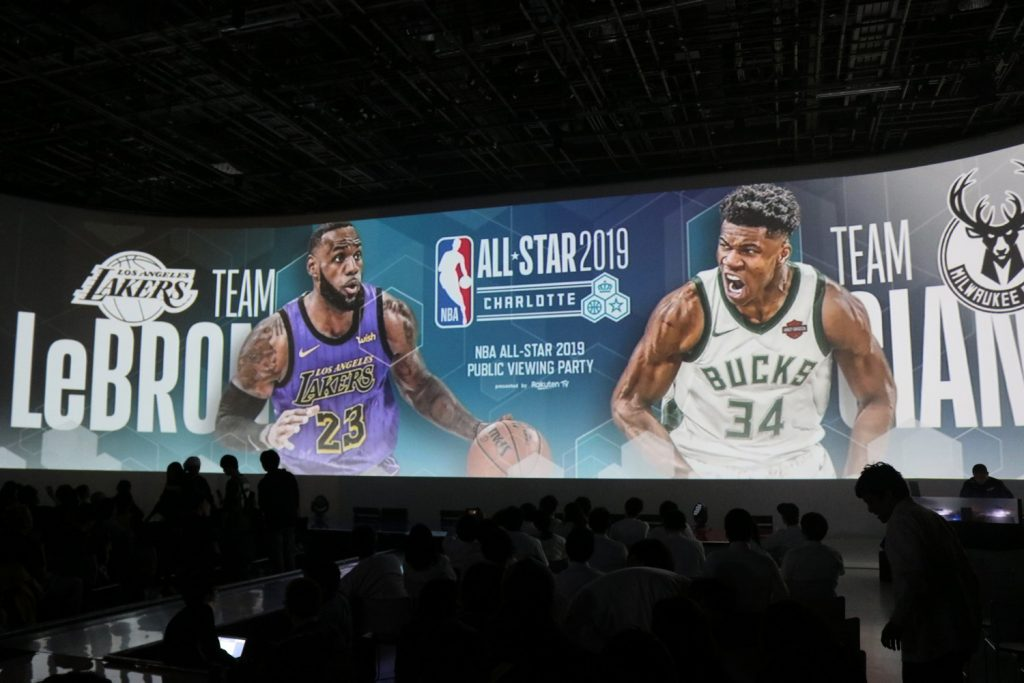 Since Rakuten announced a global partnership with the NBA in fall 2017, Rakuten TV has since hosted numerous events celebrating the NBA, inviting high-profile stars such as Draymond Green and Ray Allen to meet with fans in Japan and organizing live viewings of important NBA games around the country.