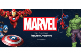 Marvel Entertainment has teamed up with Rakuten OverDrive to offer 600 graphic novel and comic collection titles to public libraries and schools worldwide.