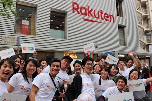 Rakuten loud and proud at Tokyo Rainbow Pride Parade 2019