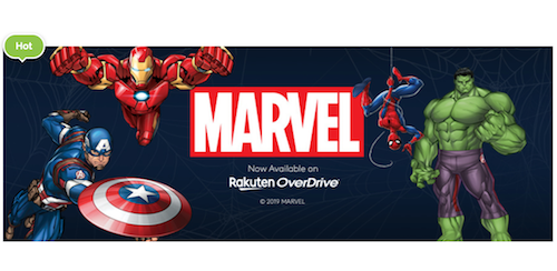 Rakuten OverDrive now offers Marvel digital graphic novels to public libraries and schools worldwide