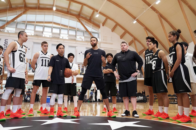 ステフィン・カリー選手によるバスケットボールキャンプ「Underrated Tour, powered by Rakuten」がついに日本上陸!