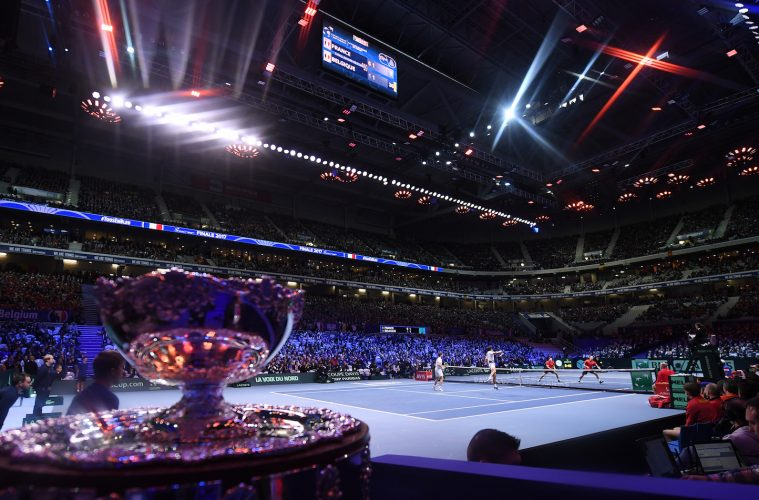 Rakuten has partnered with the largest annual international team competition in tennis, the Davis Cup.