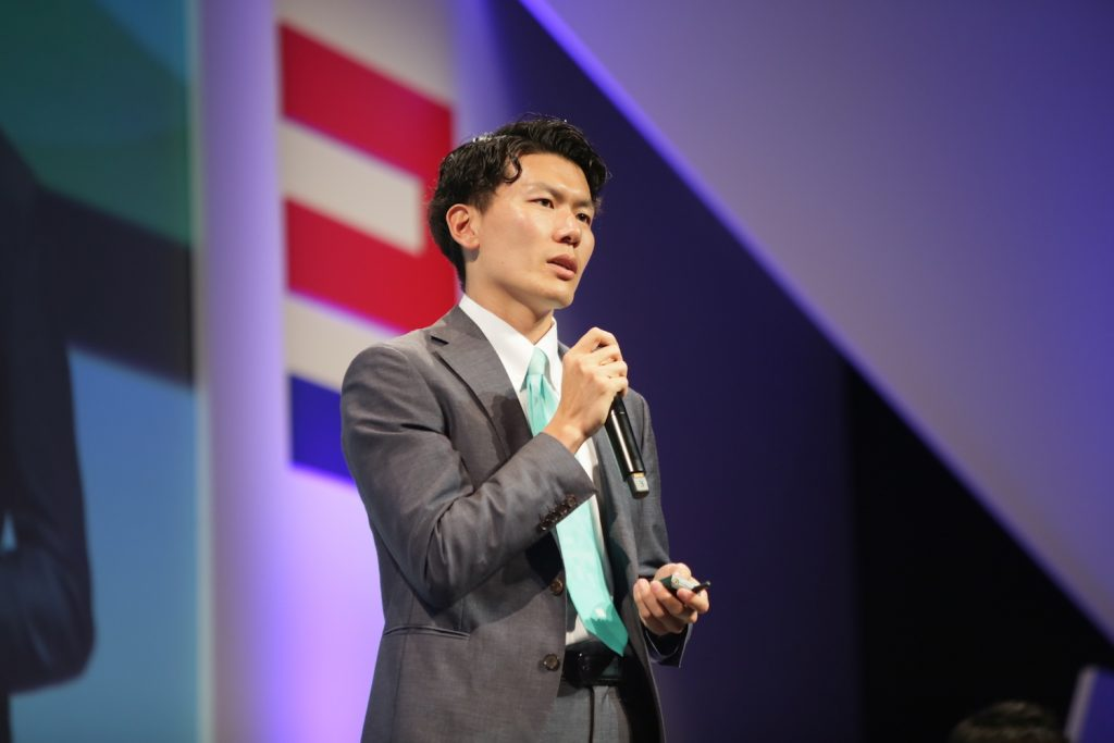 Yuki Shimahara, CEO of Tokyo-based AI venture LPIXEL, discussed how AI can improve both the accuracy and efficiency of medical diagnoses, as well as generate new criteria for diagnosing illness.