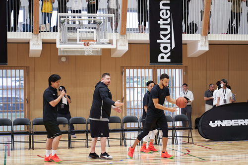 Brandon Payne, personal skills development & performance coach of Stephen Curry, trains coaches in Japan