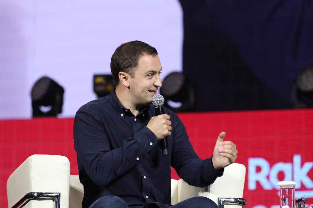 """""""It's the responsibility of companies and governments to create the right policies and infrastructure and make sure the system is developed in a fair, equitable and safe way,"""" Zimmer told the Rakuten Optimism audience in Japan."""