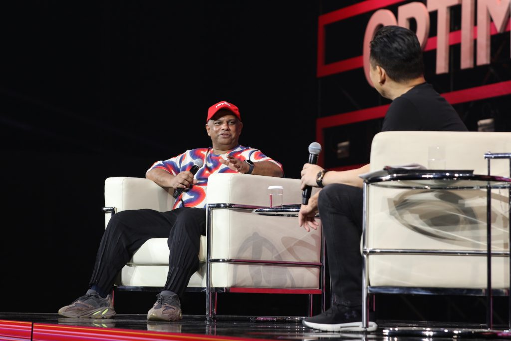 """""""I think there's a reality that air travel will become more like buses, where space is a premium, and we're beginning to see some of the sharing economy with private jets,"""" said Air Asia CEO Tony Fernandes."""