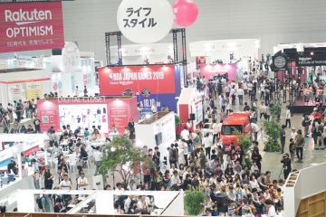 Rakuten Optimism attendees were treated to a bevy of interactive booths and exhibitions at the Interactive Event & Festival.