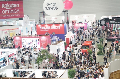 Festivalgoers experience the future at Rakuten Optimism 2019