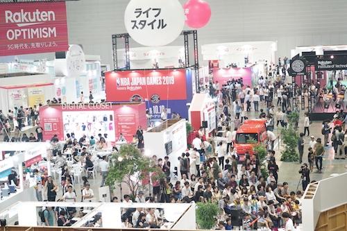 Festivalgoers experience the future at Rakuten Optimism 2019