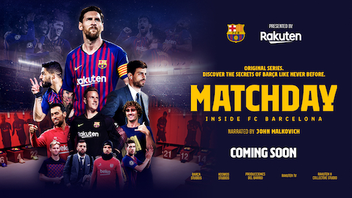 Presenting Matchday – Inside FC Barcelona – the new documentary series