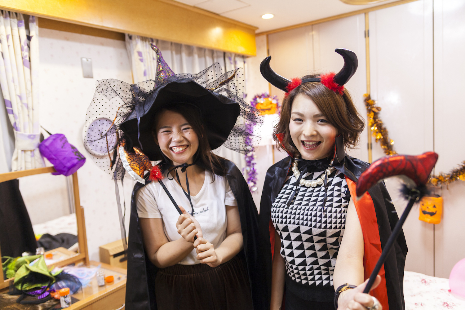 Halloween at home a hit in Japan