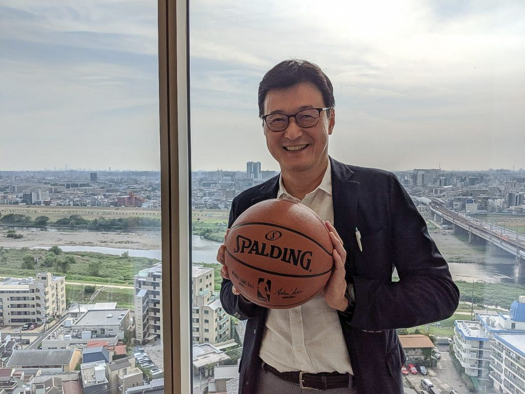 Mak Arima is using his expertise in digital marketing to raise the profile of basketball in Japan.