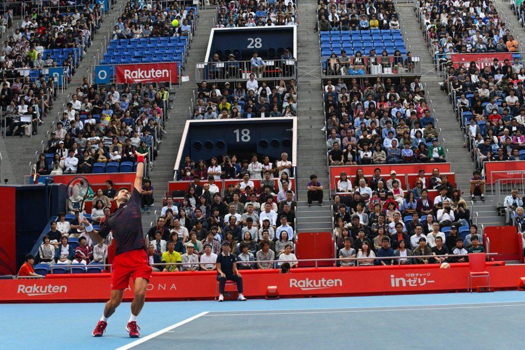 Into the final without dropping a set: World no.1 Novak Djokovic.
