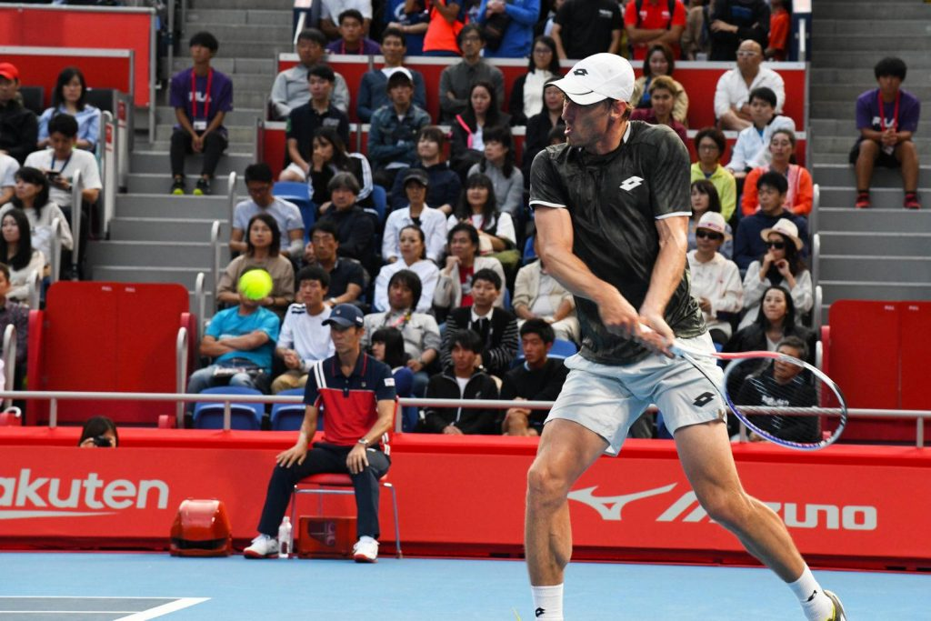 Australian qualifier John Millman had the crowd on the edge of their seats as he repeatedly challenged Djokovic's serve.