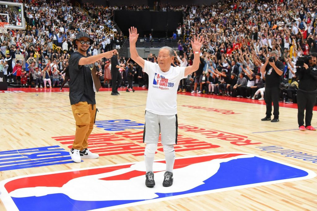 At 94 years old, Hiromu Arima is Japan's oldest active basketballer.