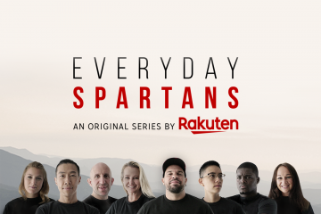 """Everyday Spartans,"" an original series by Rakuten, follows eight ordinary people as they travel the globe and transform their lives through Spartan challenges."