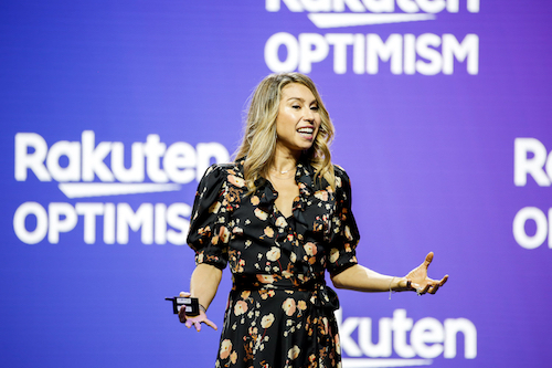 Jenny Fleiss at Rakuten Optimism: Make shopping more efficient, personalized and experiential