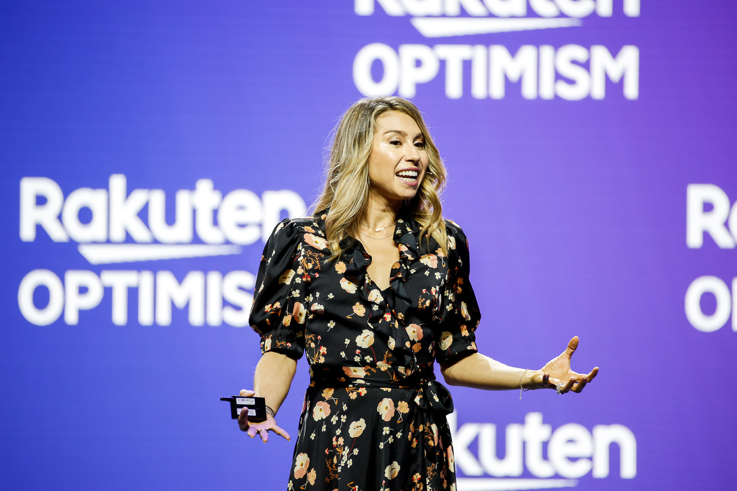 Jenny Fleiss discussed modern consumer expectations and where commerce is heading in the future at Rakuten Optimism 2019 in San Francisco.