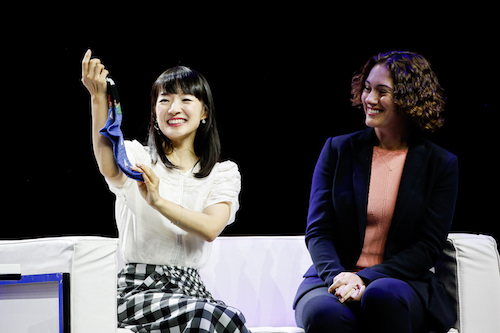 Marie Kondo Sparks Joy at Rakuten Optimism in San Francisco