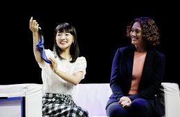 Marie Kondo shares sock folding methods, details of her partnership with Rakuten and the central tenants of her KonMari Method™ at Rakuten Optimism.